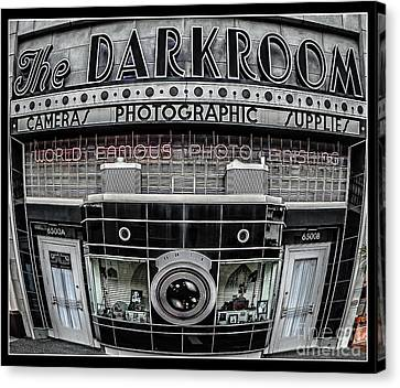 The Darkroom Canvas Print by Edward Fielding