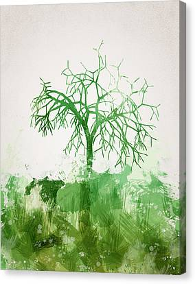 The Dead Tree Canvas Print by Aged Pixel
