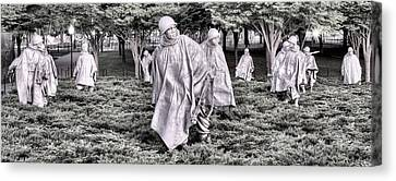 The Defensive Line Canvas Print by JC Findley