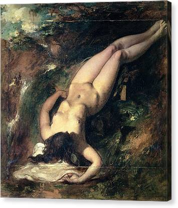 The Deluge Canvas Print by William Etty