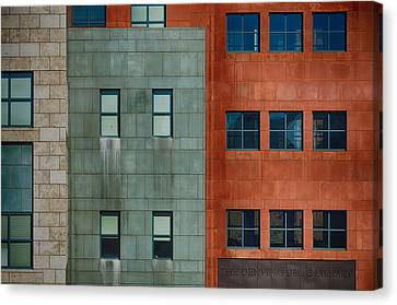The Denver Library Architecture Canvas Print by Angelina Vick