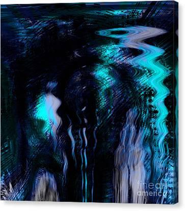 The Depth Canvas Print by Ashantaey Sunny-Fay