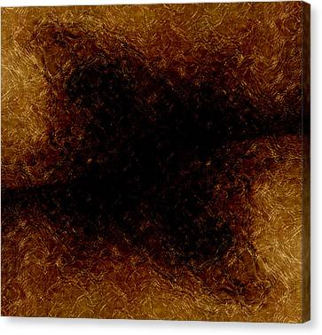 The Descent Canvas Print by James Barnes