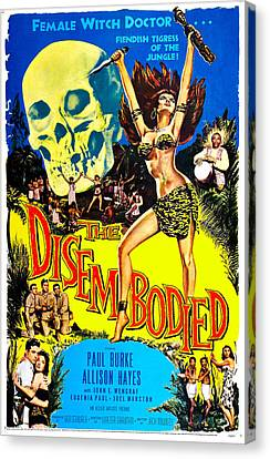 The Disembodied, Us Poster, Bottom Left Canvas Print by Everett