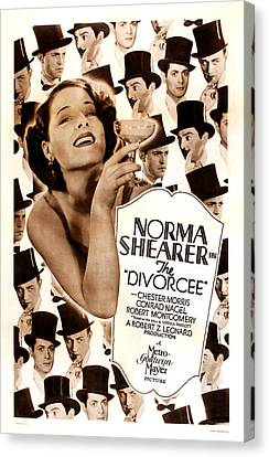 The Divorcee, Robert Montgomery Canvas Print by Everett