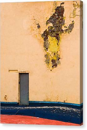 The Door - Featured 2 Canvas Print by Alexander Senin