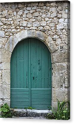 The Door In The Wall Canvas Print by Georgia Fowler
