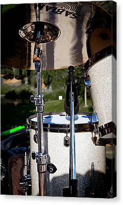 The Drum Set Canvas Print by David Patterson