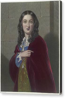 The Duchess Canvas Print by British Library