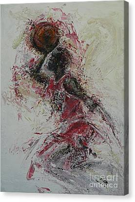 The Dunk  Canvas Print by Dan Campbell
