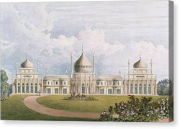 The East Front Canvas Print by English School