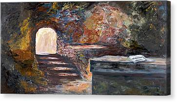 The Empty Tomb Canvas Print by George Richardson