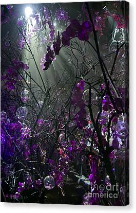 The Enchanted Orchids Forest 04 Canvas Print by Arik Baltinester