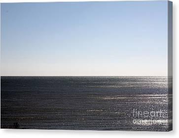The End Of Long Island Canvas Print by John Telfer
