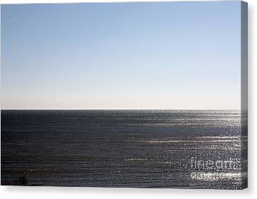The End Of Long Island Canvas Print by John Telfer
