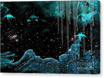 The Eternal Universe Canvas Print by Sherri  Of Palm Springs