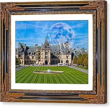 The Evening Begins At Biltmore Canvas Print by Betsy Knapp
