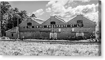 The Ewing Phosphate Company Canvas Print by Nicholas Blackwell