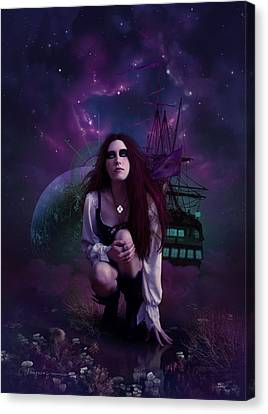 The Explorer Canvas Print by Cassiopeia Art