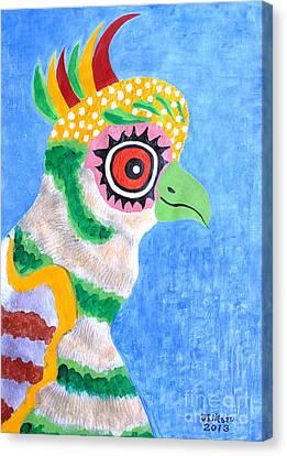 The Eye Canvas Print by Taikan Nishimoto