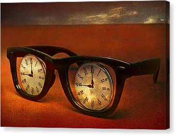 The Eyes Of Time Canvas Print by Jeff  Gettis