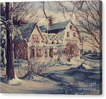 The Farm Canvas Print by Joy Nichols
