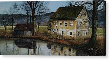 The Farm Canvas Print by Suzanne Tynes