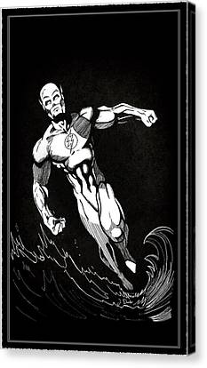 The Fastest Man Alive Canvas Print by Mark Rogan