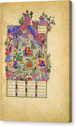 The Feast Of Sada Canvas Print by Celestial Images