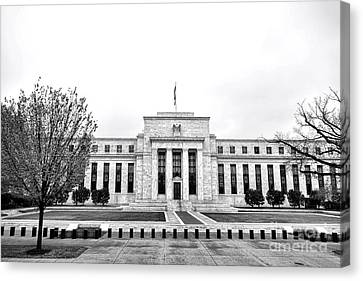 The Federal Reserve  Canvas Print by Olivier Le Queinec