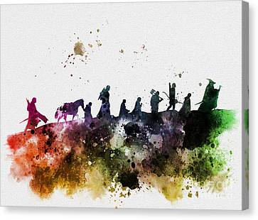 The Fellowship Canvas Print by Rebecca Jenkins