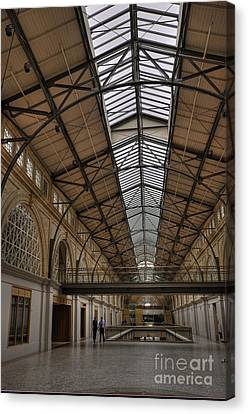 The Ferry Building Canvas Print by David Bearden