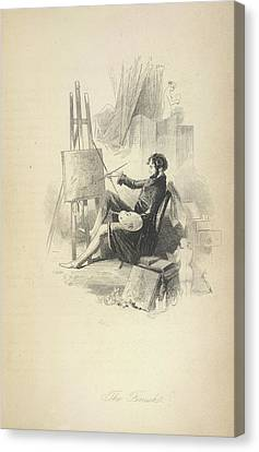 The Finish Canvas Print by British Library