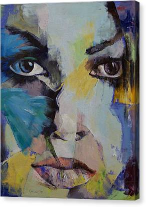 The Firebird Canvas Print by Michael Creese