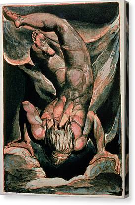The First Book Of Urizen Canvas Print by William Blake