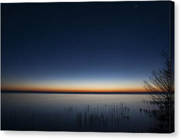 The First Light Of Dawn Canvas Print by Scott Norris
