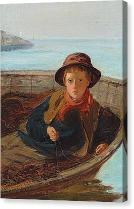 The Fisher Boy Canvas Print by William McTaggart