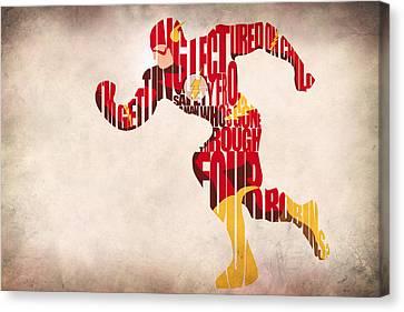 The Flash Canvas Print by Ayse Deniz