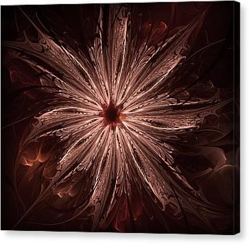The Flower Canvas Print by Radoslav Nedelchev
