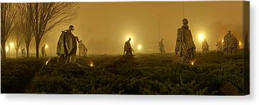 The Fog Of War #1 Canvas Print by Metro DC Photography