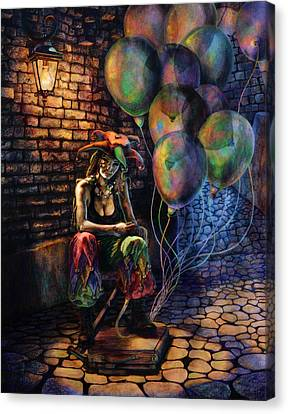 The Fool Dreamer Canvas Print by Kd Neeley