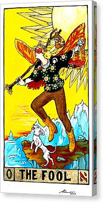 The Fool Canvas Print by Joseph Demaree