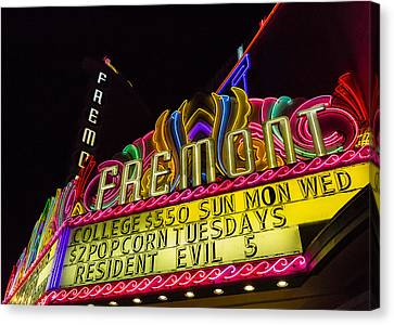The Fremont Canvas Print by Caitlyn  Grasso