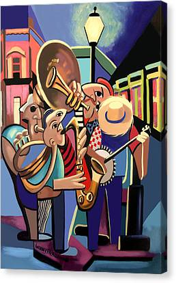The French Quarter Canvas Print by Anthony Falbo