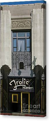 The Frolic Room Canvas Print by Gregory Dyer