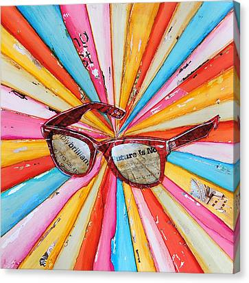 The Future's So Bright Canvas Print by Danny Phillips