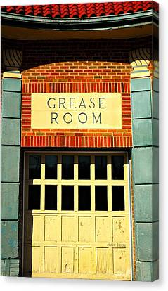 The Garage Canvas Print by Chris Berry