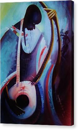The Garaya II Canvas Print by Oyoroko Ken ochuko
