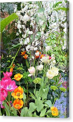 The Gardens Canvas Print by Kathleen Struckle