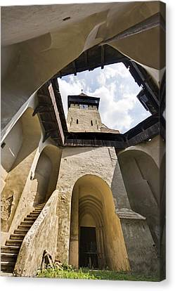 The German Fortified Church Canvas Print by Martin Zwick